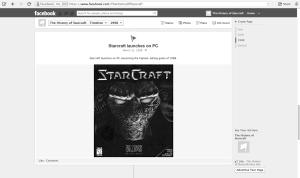 Starcraft timeline